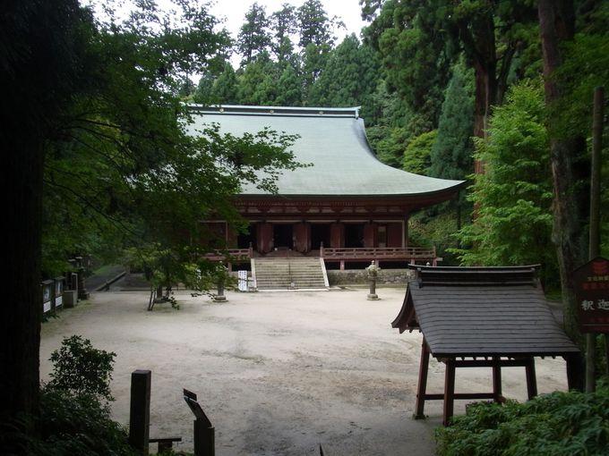 比叡山最古の御堂の釈迦堂