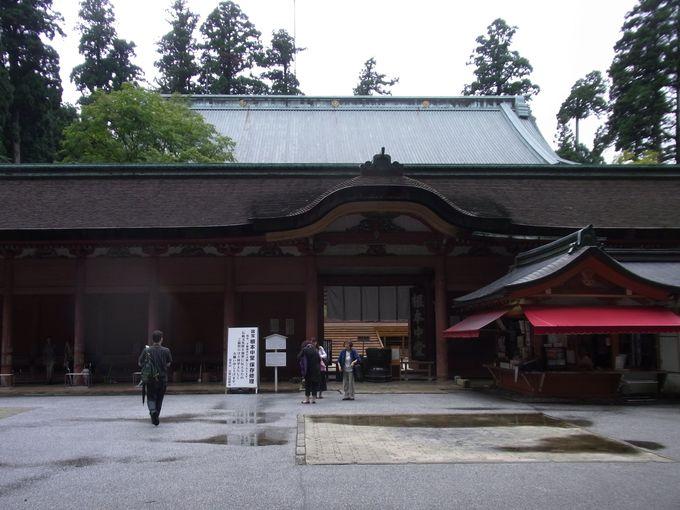 比叡山延暦寺発祥の地・国宝の根本中堂