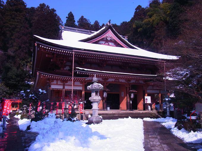 竹生島の小宇宙の中心を成す宝厳寺本堂