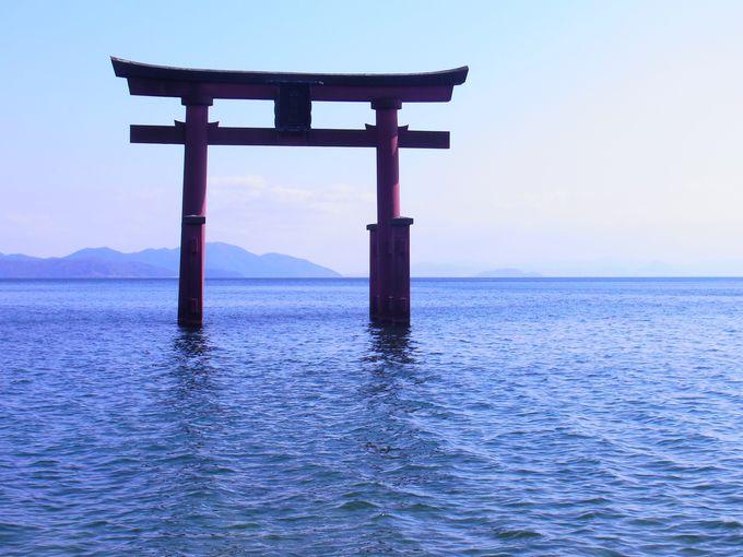 古代敦賀〜大和をつなぐ 湖岸のウォーター・マーク白鬚神社