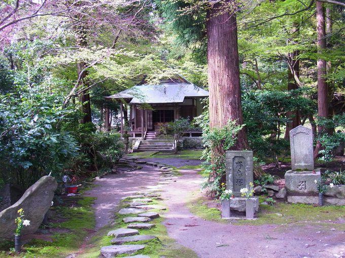大阪府と奈良県の県境の暗峠