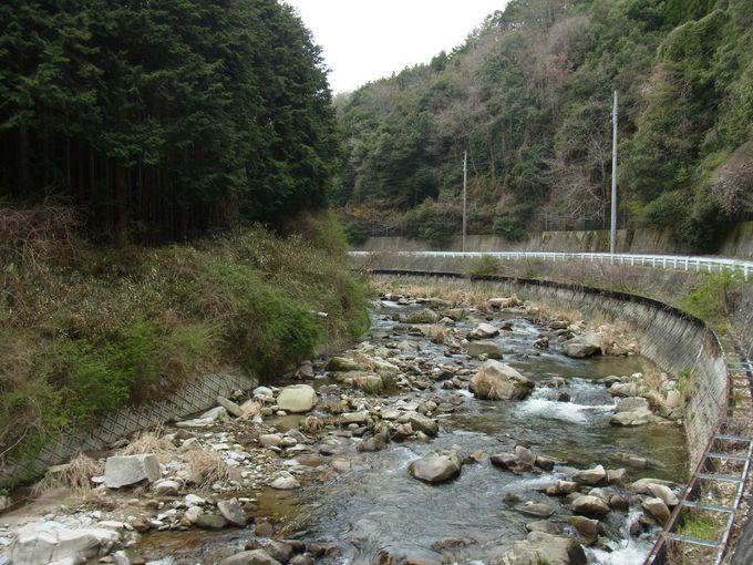 笠間街道は東大寺二月堂「お水取り」の松明を運んだ道
