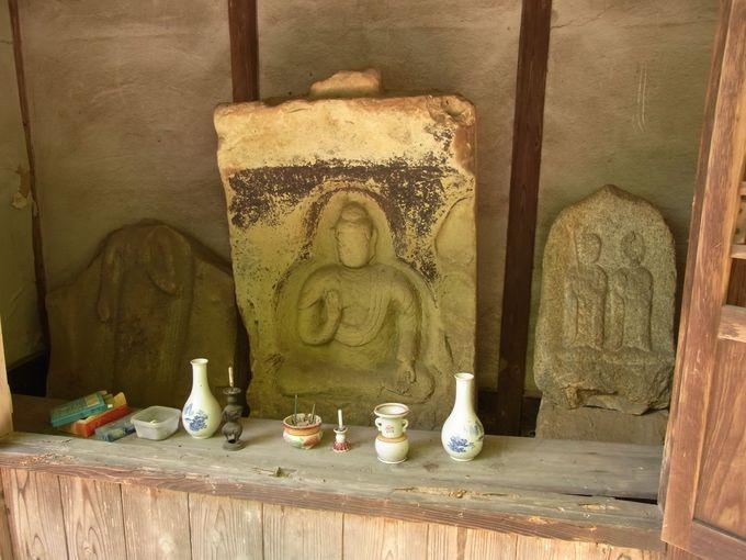 瑠璃光禅寺石仏と若倭姫神社