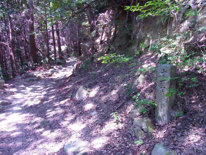 全山パワースポットの清水山内には是非徒歩で