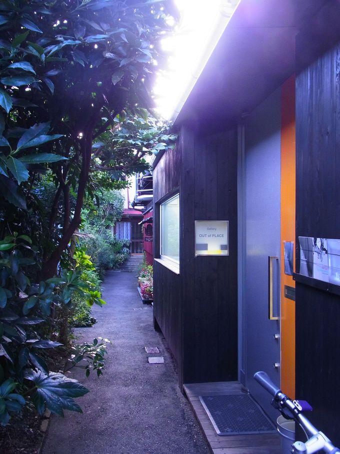 今辻子町の町屋ギャラリーとカフェ