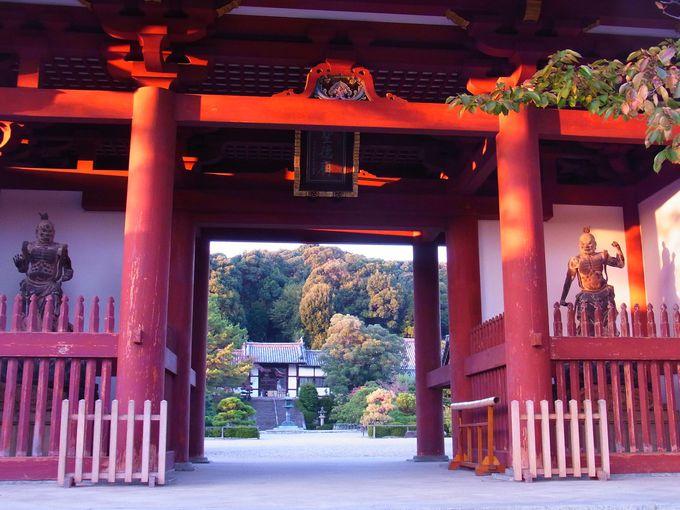 聖徳太子・上宮家一族の陵のある叡福寺