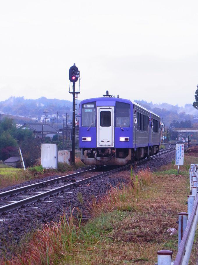 島ケ原の魅力はなんといってもJR関西本線往還の楽しみにあり