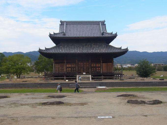 紀伊国分寺跡と打田町歴史民俗資料館