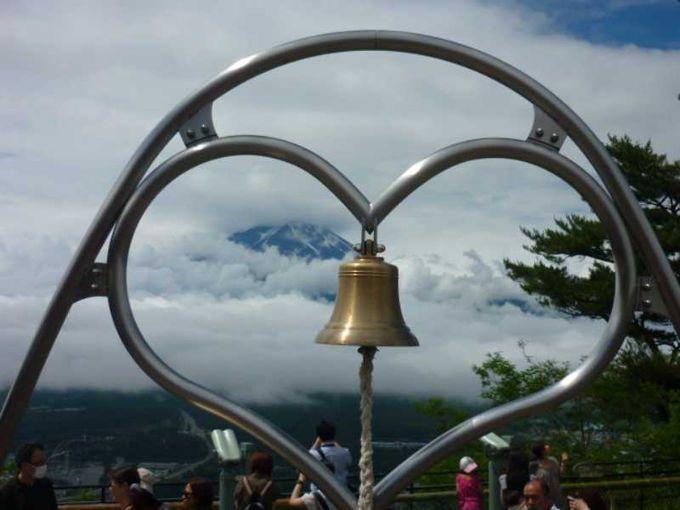 富士山のパワーを感じながら天上の鐘を鳴らそう!
