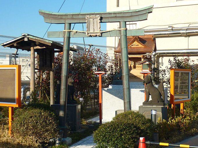 浅草ハレテラスには、出世稲荷神社もあります。