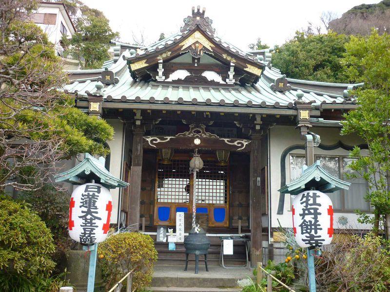 鎌倉駅から徒歩7分、ぼたもち寺は彩りの寺「常栄寺」