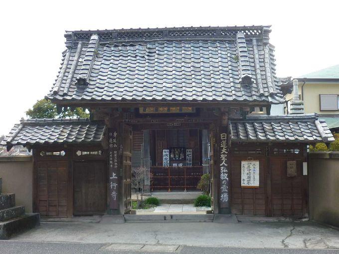 JR鎌倉駅から徒歩12分、そこに上行寺(じょうぎょうじ)があります。