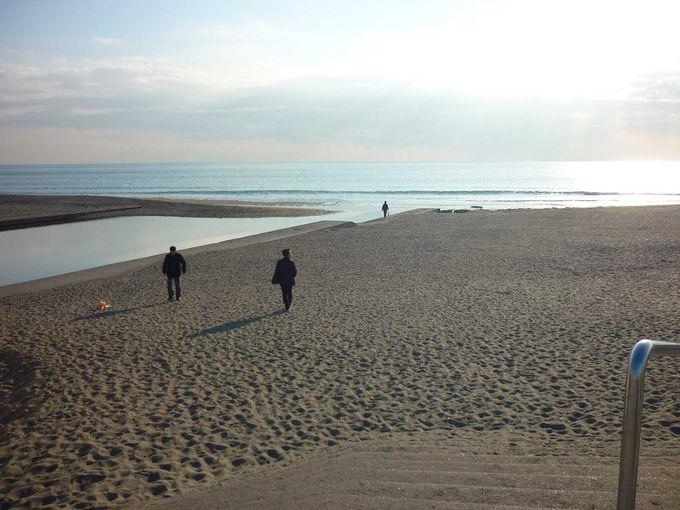 湘南の海「由比ヶ浜」をのんびり散策