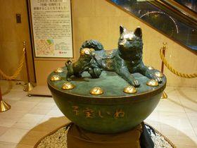 子宝や子育てにご利益のある東京人形町の「水天宮」、改装中の仮宮はこちら!子宝いぬはホテルへ!