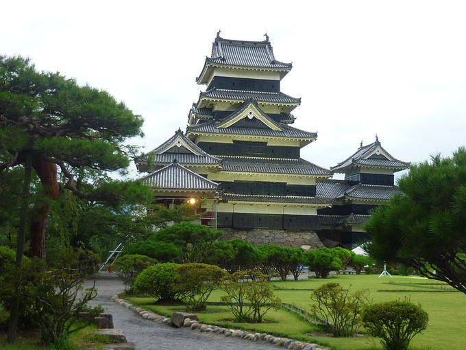 松本といえば「国宝 松本城」