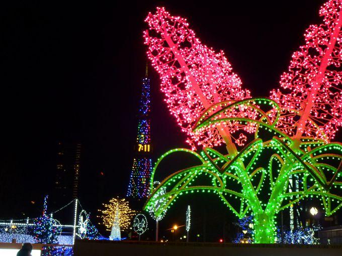 会場は札幌の中心「大通り公園」