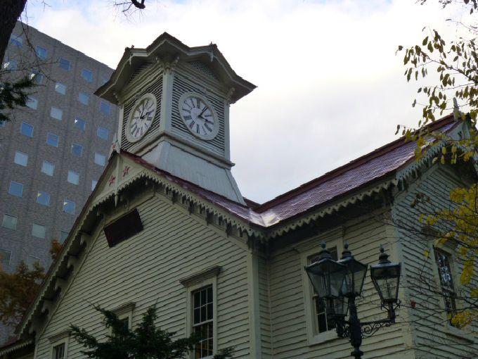 札幌のシンボル「札幌市時計台」