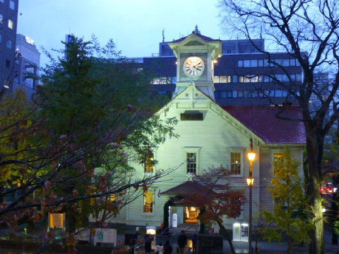 時計台がイチバンきれいに撮れるポイント!