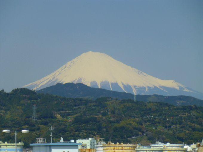 富士山も近い清水