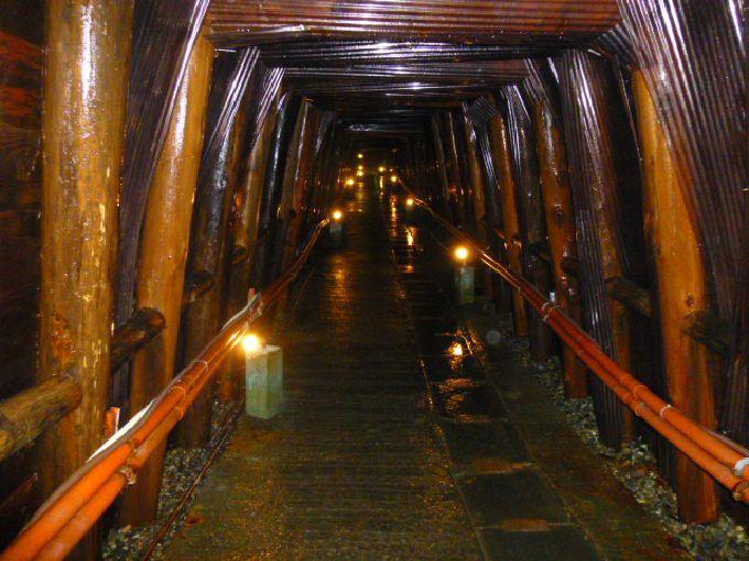 400年の歴史を語る全長700mの坑道「足尾銅山観光」