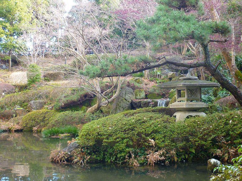 地下1階から出られる日本庭園が魅力!成田エクセルホテル東急