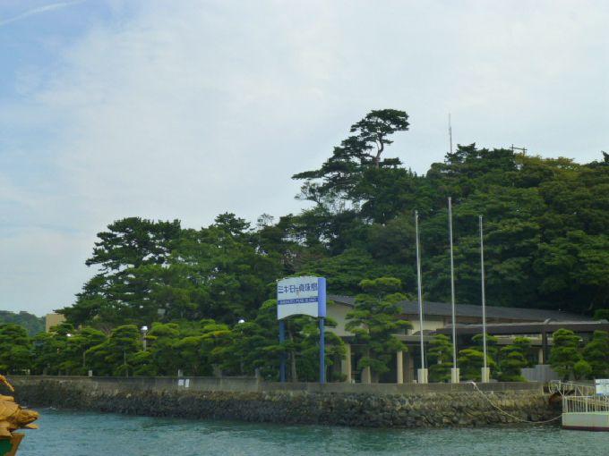 鳥羽駅から徒歩5分でミキモト真珠島
