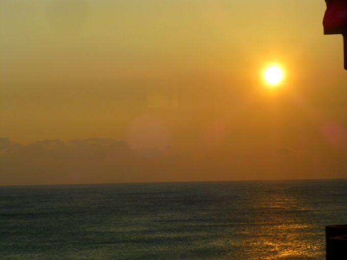 鵜の岬に行ったら絶対見たい、朝日!