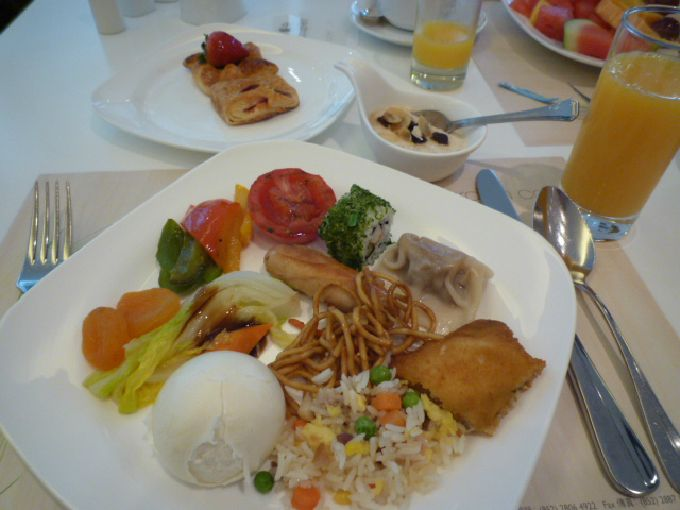 ガーデンカフェの朝食も美味!