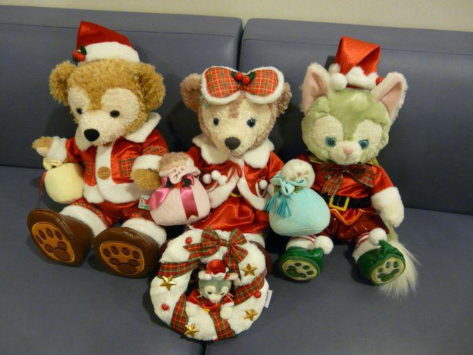 ダッフィーと仲間たちのクリスマス