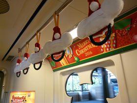 クリスマス期間限定!ディズニーリゾートライン車内や駅のとっておき情報