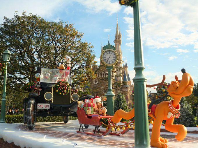 ディズニークリスマスデコレーションも見逃せない!