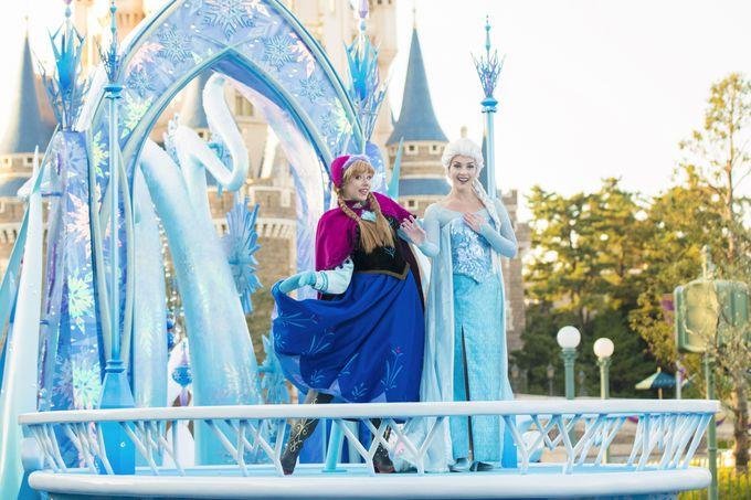 クリスマススペシャルパレード「ディズニー・クリスマス・ストーリーズ」
