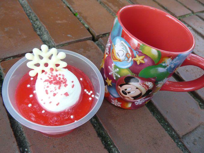 楽しいディズニークリスマスのスイーツタイム!