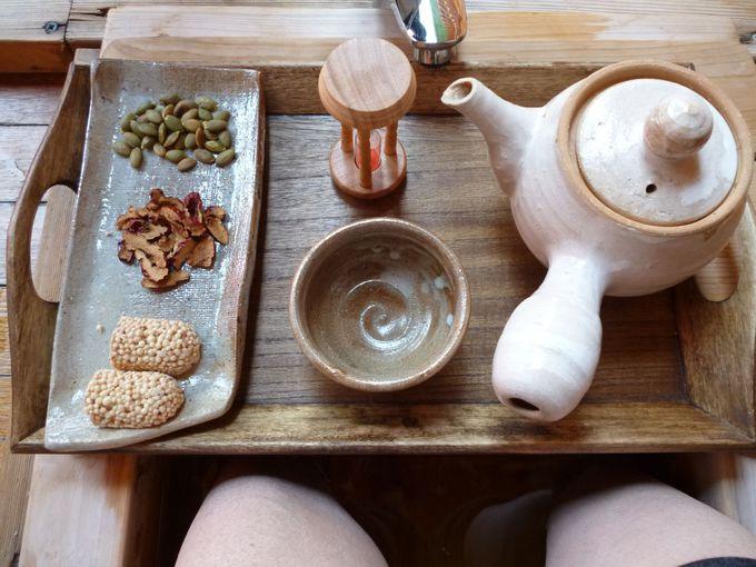 伝統茶は韓国風ハーブティー