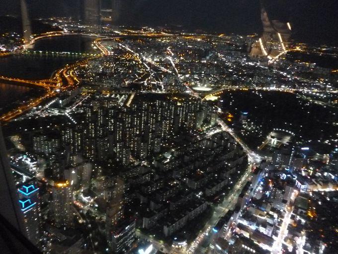 夜景が美しい「スカイテラス」
