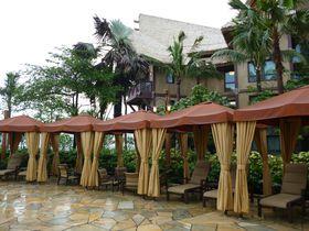 4テーマの庭とプールで外遊び!香港の「ディズニー・エクスプローラーズ・ロッジ」