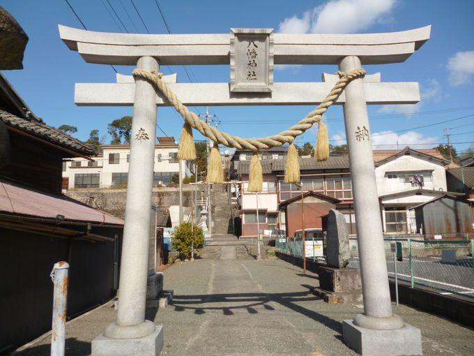 「八幡神社」は津山のパワースポット