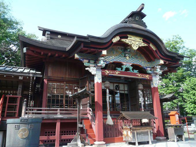 今宮神社から歴史的建造物へ