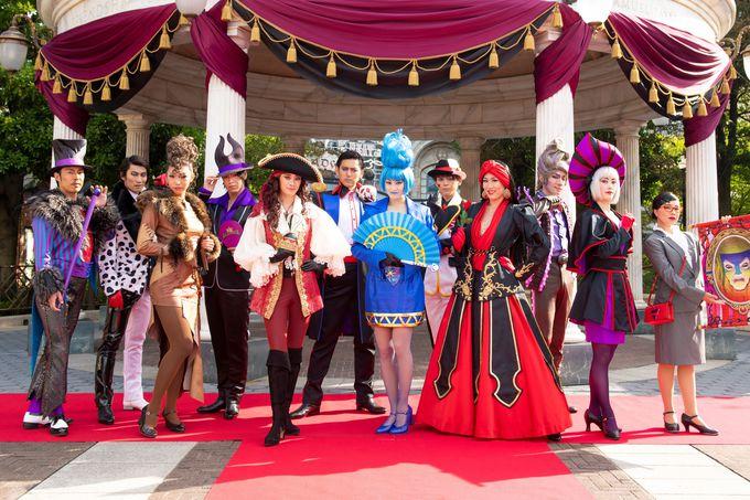 「ヴィランズ・ハロウィーン・パーティー」でポーズを決めよう!