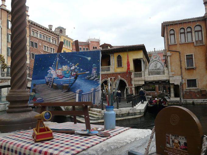 ジェラトーニが描いた絵やステラ・ルーのフォトスポットが登場!
