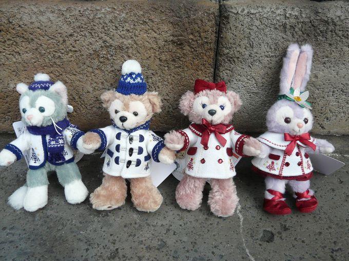 欲しい!ダッフィー&フレンズのぬいぐるみ&クリスマスコスチューム