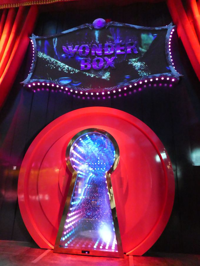 「WONDERBOX(ワンダーボックス)」のチケット売り場と入り口は!