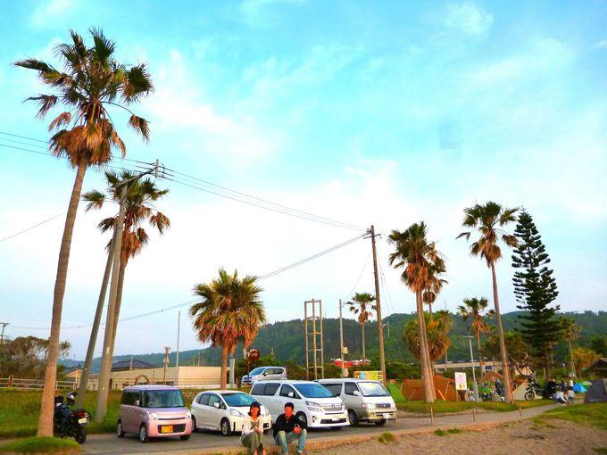「神川ビーチ 影絵の祭典」はここで見られる!