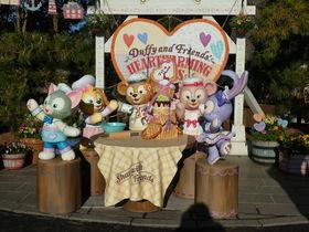 クッキー・アンが仲間入り「ダッフィー&フレンズのハートウォーミング・デイズ」東京ディズニーシー