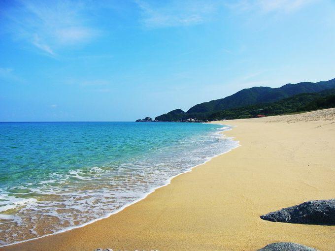 第4位・どこまでも続く美しいビーチ!永田・いなか浜