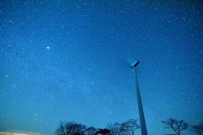 ずっと見上げていたい!数え切れない星たち!