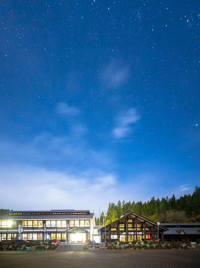 夜は満天の星の下で過ごそう!