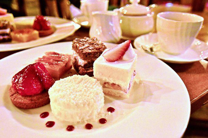 1日20食限定の特製ケーキ5種盛り合わせセット!