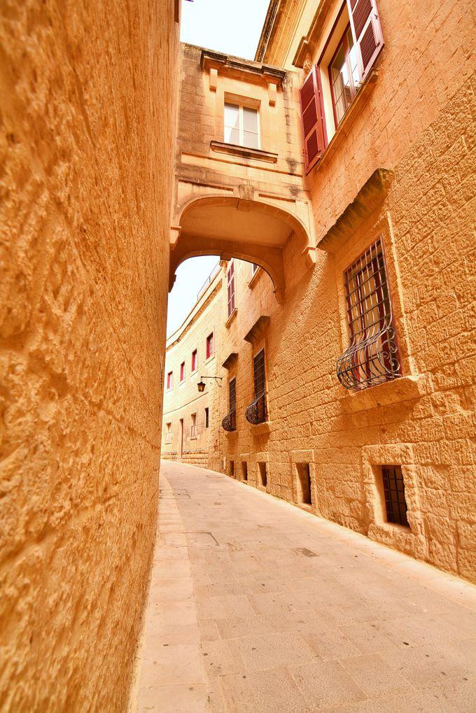静寂の町イムディーナで中世の世界へタイムスリップ!