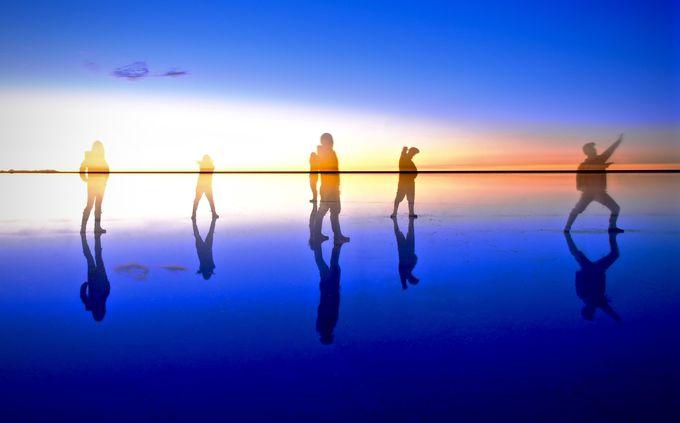 10.ウユニ塩湖で絶景を堪能(ボリビア)